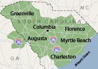 Our South Carolina Service Area